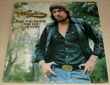 WAYLON ARE YOU READY FOR THE COUNTRY GATEFOLD ALBUM 1976 RCA VICTOR APL1-1816