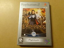 PS2 GAME / LORD OF THE RINGS: RETURN OF THE KING (PLAYSTATION 2)