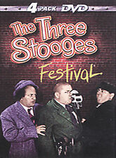 The Three Stooges Festival (DVD, 2000, 4-Disc Set)