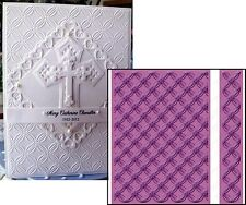 Cuttlebug Embossing folders - GEOMETRIC RINGS Wedding,All Occasion folder set