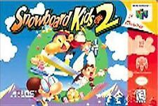 ***SNOWBOARD KIDS 2 N64 NINTENDO 64 GAME COSMETIC WEAR~~~