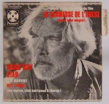Kermesse de l'Ouest 45 tours Lee Marvin Clint Eastwood 1969