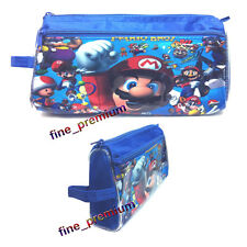 Super Mario Bros Luigi Yoshi Stationery Kids Boy Pencil case Zipper Bag Pouch C