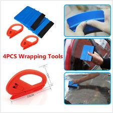 4× Safety Vinyl Cutter & 3M Felt Edge Squeegee Mouldings Car Wrapping Film Tools