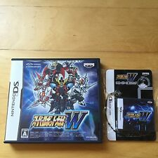 Nintendo DS Super Robot Wars W Japan (Used) w/ Limited DS Case (New)