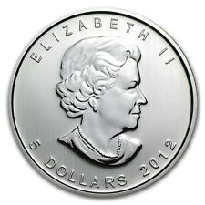 2012 1 oz Canadian Silver Maple Coin (BU) - SKU 0140