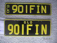(GOLFIN) * 901FIN * qld personalised plates Present? FAST POST?