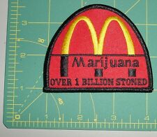 Embroidered Patch - Marijuana Over 1 Billion Stoned - Arches