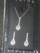 New and sealed Fervor Anastasiya Set of Glittering Earrings and Necklace