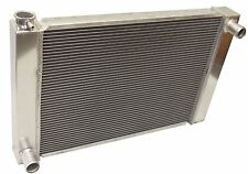 "New Universal Ford  /Mopar Fabricated Aluminum Radiator 26"" x 19"" x3'' Overall"