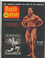MUSCLE POWER bodybuilding fitness workout magazine/Reg Park Mr Universe 5-53