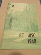 Vintage WSC  1948 CHI Deuteronian College Fraternity Booklet