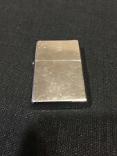 Polished Chrome Zippo Lighter Inner And Outer Cases Match CRT