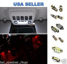 BMW E90 325i 330i 328i 335i M3 LED Lights Interior Package Kit + RED FOOTWELL