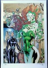 JIM LEE & ALEX SINCLAIR CATWOMAN & POISON IVY SDCC 2013 LTD EDITION PRINT  xx/30