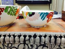"Richard Ginori MISSONI HOME TROPICAL Cereal Bowl 7""D x 3.25""H NEW"