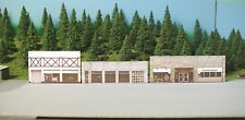 N scale WEST COLUMBUS background building flat