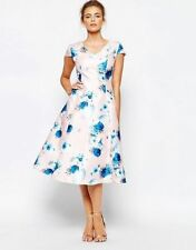 True Decadence Fit And Flare Full Skater Dress With Floral Print UK 12/EU 40/US