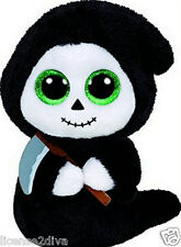 GRIMM TY BEANIE BOOS! NEW WITH TAGS! BIRTHDAY JULY 14TH FREE SHIP! HALLOWEEN!