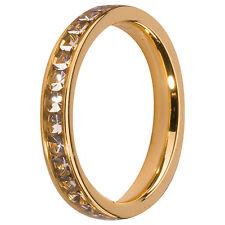MelanO Vorsteckring Beisteckring Größe 54 M 01R4993 G Kristall Schmaler Ring