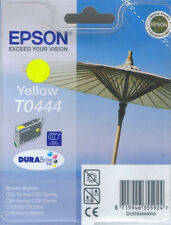 Epson T0444 Yellow Ink Cartridge Genuine NEW C64,C66,C84,C86,CX3600,CX3650.Etc.