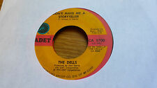 The Dells 45 Don't Make Me a Storyteller/I Miss You Cadet 5700