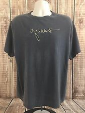 Vintage 80s 90s Guess Mens Womens Georges Marciano Black Short Sleeve Shirt USA