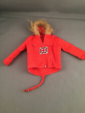 VINTAGE ACTION MAN -  RED POLAR EXPLORER ANORAK Early Issue