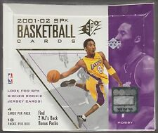2001-02 UPPER DECK SPx Basketball Hobby Box Factory Sealed Gasol, Parker RC