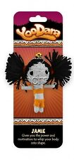 YooDara Good Luck Charm ~ JAMIE ~Power Tribe NEW Collectible Keychain