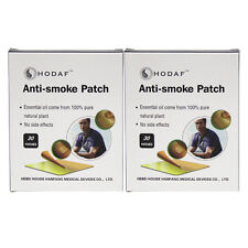 60 PATCHES NATURAL HERBAL QUIT STOP SMOKING PATCH TRANSDERMAL Nicotine Patches