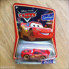 Disney PIXAR Cars Supercharged DIRT TRACK McQUEEN diecast 'Can't turn on dirt'