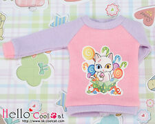☆╮Cool Cat╭☆【PR-04】Blythe Pullip Doll Printing Long Sleeves Top # Candy Cats