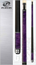 Players C-965 Royal Purple Stained Maple Pool Cue w/ FREE Shipping