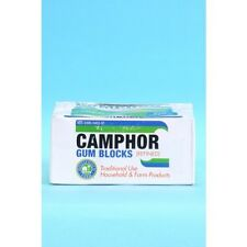 Humco Refined Camphor Gum Blocks Household Farm Rust Inhibitor - 1 pound package