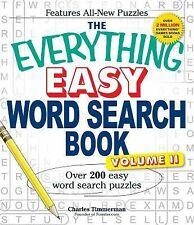 The Everything Easy Word Search Book, Volume II : Over 200 Easy Word Search...