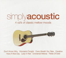 [NEW] 4CD: SIMPLY ACOUSTIC