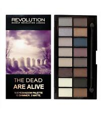 MAKEUP REVOLUTION The DEAD ARE ALIVE ~16 COLOUR EYESHADOW PALETTE Neutral Nude