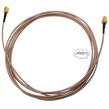 Cable RG316 3m RF Coaxial SMA Male plug to Female Nut Extension Premium Pigitail