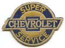 Circa 1950's Chevrolet Mechanic Patch - Super Chevrolet Service