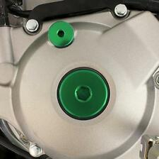 Works Connection Engine Plug Kit Green KAWASAKI KLX450R 2008-2009,KX250F 2011-2