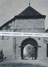 Sinsheim - Torbau der Abtei Ritterstift - um 1960           G 30-8
