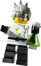 Lego Minifigures 8804 Series 4 Crazy Scientist New in Factory Sealed Packet