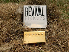 THE REVIVAL PICKUPS RPH 4 ALNICO V HUMBUCKER PAF SET GOLD 7.6+8.4k THE TRUE TONE