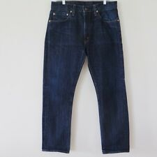 LVC LEVIS VINTAGE CLOTHING 505 0217 1967 JEANS W34 L30 TALON ZIPPER TALON