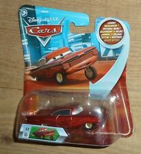 New Disney Cars no 13 Hydraulic Red Metalic Ramone Mattel Eyes Change 3d