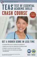 Nursing Test Prep Ser.: TEAS Crash Course by Daniel Greenberg (2014, Paperback,