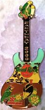 Hard Rock Cafe BANGKOK 2000 EARTH DAY Guitar PIN Nature Scene - HRC Catalog #933