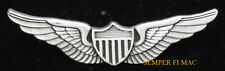 US ARMY AVIATOR PILOT WING HAT PIN UP MILITARY BADGE HELICOPTER AIRPLANE GIFT