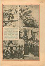 Gaston Doumergue Travaux Plan Marquet Paris / Pilote Lemoine 1934 ILLUSTRATION